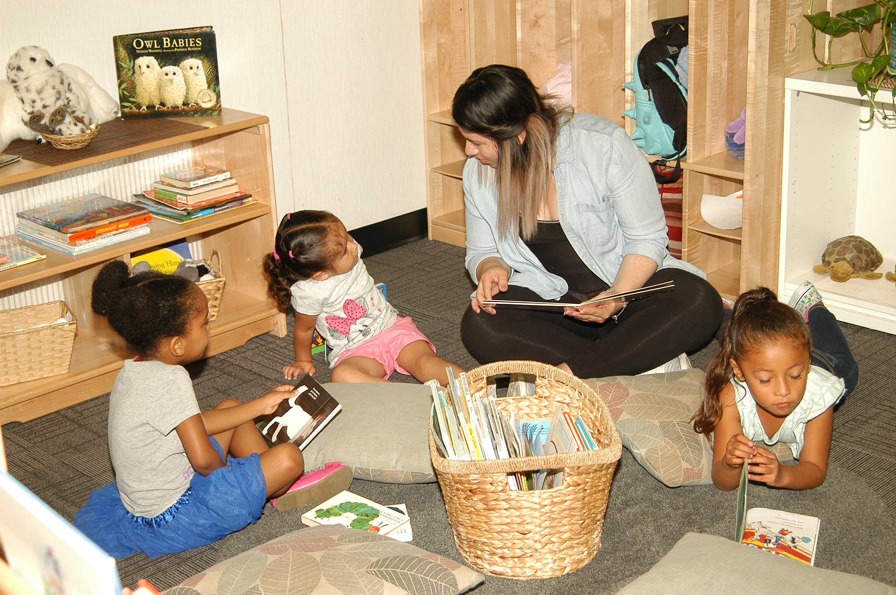 Children's Center - Jamie with Kids